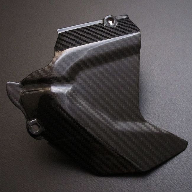 【RidingHouse】乾式碳纖維後齒盤蓋 - 「Webike-摩托百貨」