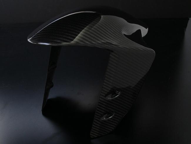 【RidingHouse】乾式碳纖維前土除 - 「Webike-摩托百貨」