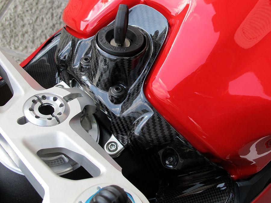 【RidingHouse】霧面乾式碳纖維點火開關護蓋 - 「Webike-摩托百貨」