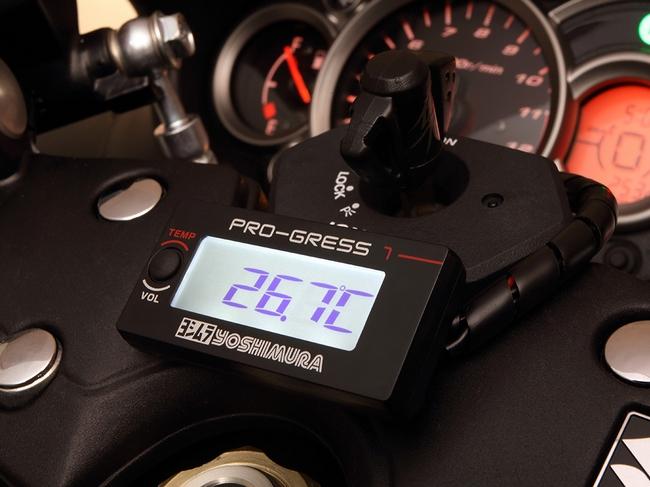 【YOSHIMURA】PRO-GRESS1 溫度/電壓表 - 「Webike-摩托百貨」