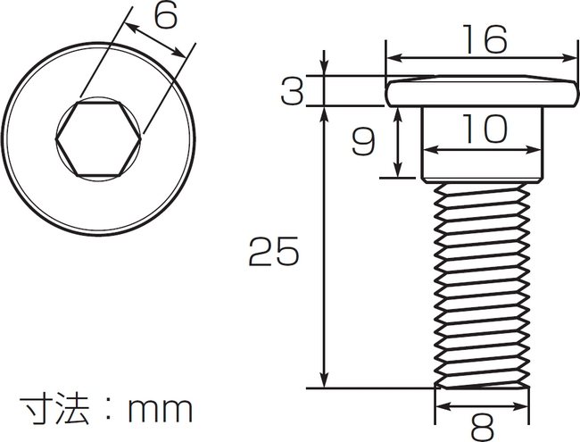【K-CON】煞車碟盤螺絲 - 「Webike-摩托百貨」