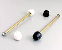 【KITACO】後輪軸護塊(防倒球)(黑色) - 「Webike-摩托百貨」