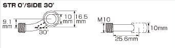 【KITACO】油管 轉接頭 SIDE/30゜ - 「Webike-摩托百貨」
