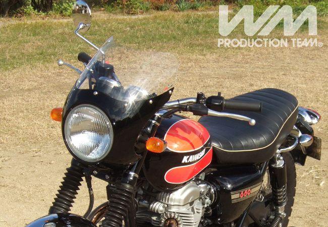 【WM】鋁合金頭燈整流罩組 - 「Webike-摩托百貨」