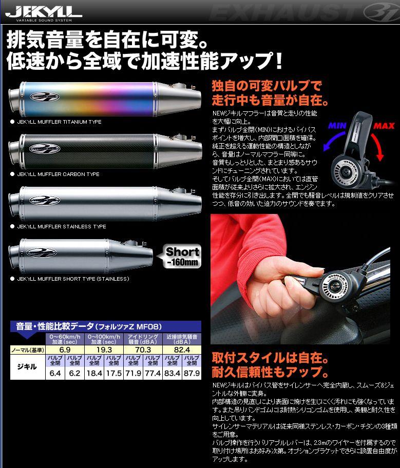 【31】JEKYLL 全段排氣管 (含觸媒轉換器) - 「Webike-摩托百貨」