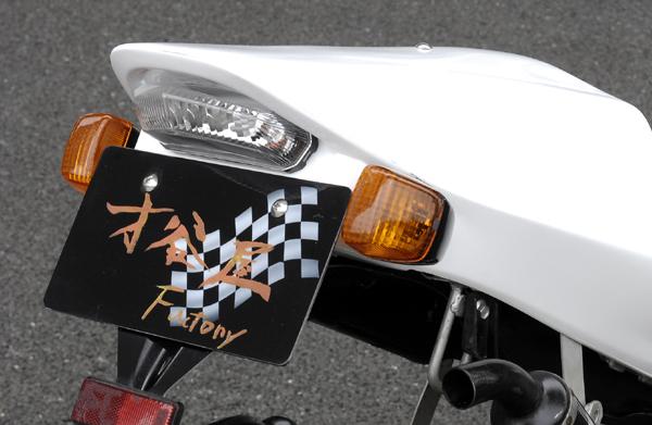 【才谷屋】600RR 復刻版單座墊整流罩専用LED尾燈&配線組 - 「Webike-摩托百貨」