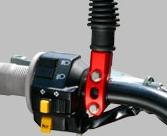 【ZETA】可動式把手配件固定蓋(附後視鏡固定座) - 「Webike-摩托百貨」