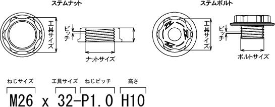 【ZETA】三角台軸心螺帽 - 「Webike-摩托百貨」