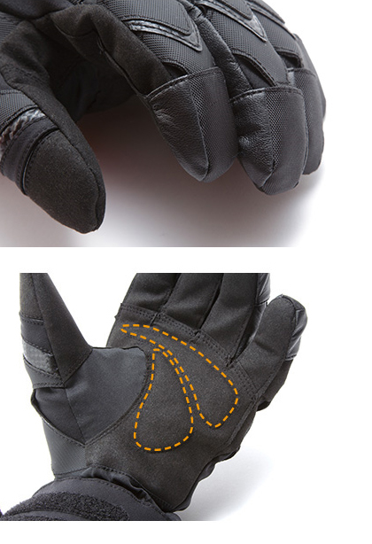 【GOLDWIN】Gore-Tex騎士保暖手套 - 「Webike-摩托百貨」
