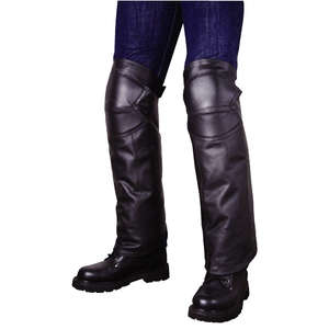 Leather leg cover ROUGH&ROAD