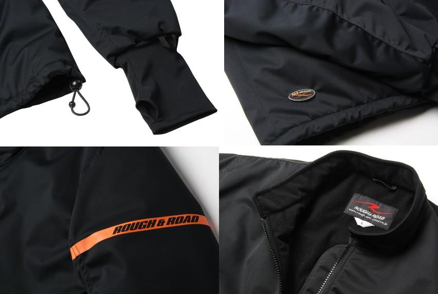【ROUGH&ROAD】防風保暖內襯夾克 - 「Webike-摩托百貨」