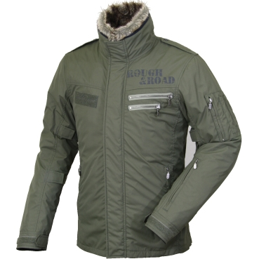 【ROUGH&ROAD】防潑水飛行夾克 - 「Webike-摩托百貨」