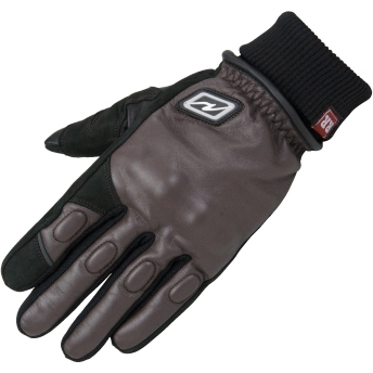 【ROUGH&ROAD】CK皮革針織手套 - 「Webike-摩托百貨」