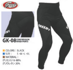【GREEDY】壓縮內穿褲 - 「Webike-摩托百貨」