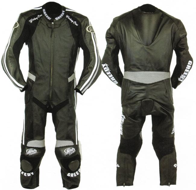 【GREEDY】皮革賽車服 - 「Webike-摩托百貨」