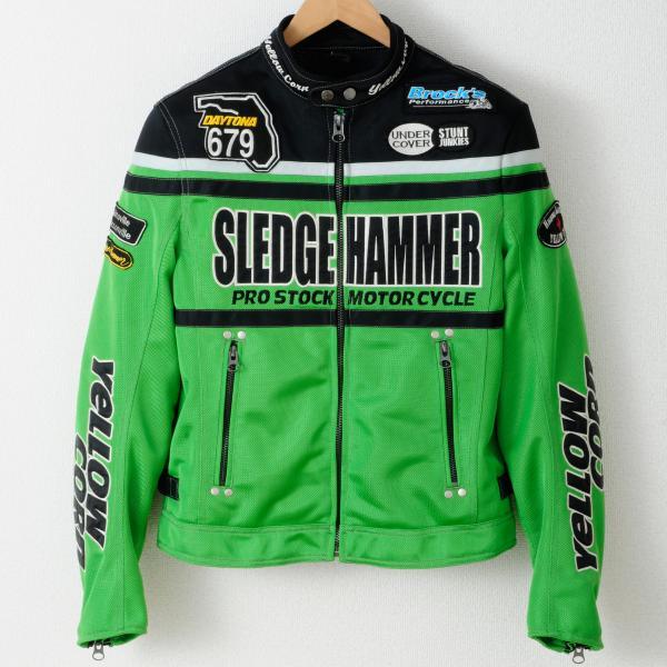 【YELLOW CORN】BB-4104 textile夾克(黑色/淺綠色) - 「Webike-摩托百貨」