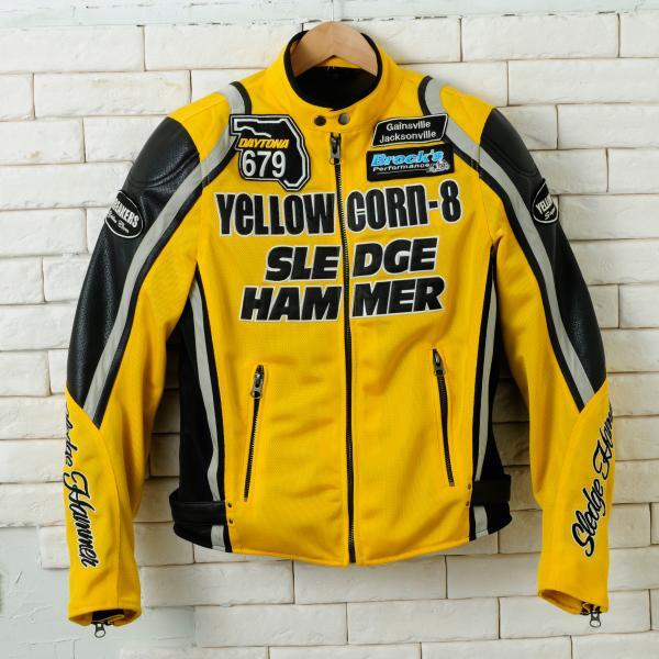 【YELLOW CORN】BB-4108 textile夾克(黃色) - 「Webike-摩托百貨」