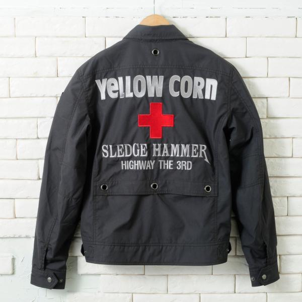 【YELLOW CORN】YB-4100 Textile外套(海軍藍) - 「Webike-摩托百貨」