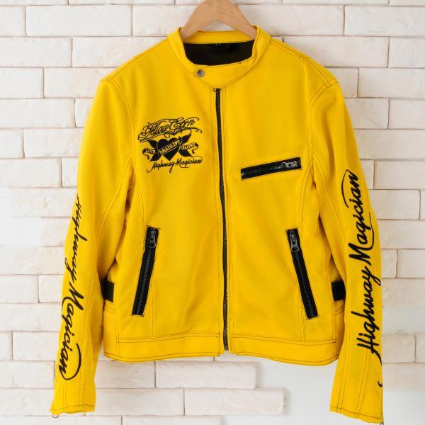【YELLOW CORN】YB-4103 Textile外套(黃) - 「Webike-摩托百貨」