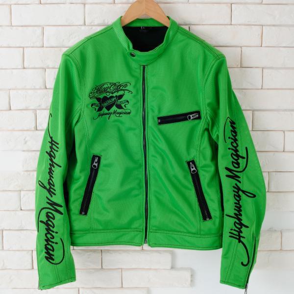 【YELLOW CORN】YB-4103 Textile外套(石灰綠) - 「Webike-摩托百貨」