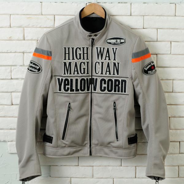 【YELLOW CORN】YB-4112  textile夾克(石米色) - 「Webike-摩托百貨」