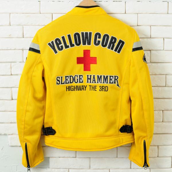 【YELLOW CORN】YB-4112  textile夾克(黃色) - 「Webike-摩托百貨」