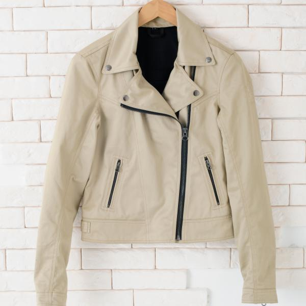 【YELLOW CORN】YB-4121L Textile女用外套(米色) - 「Webike-摩托百貨」