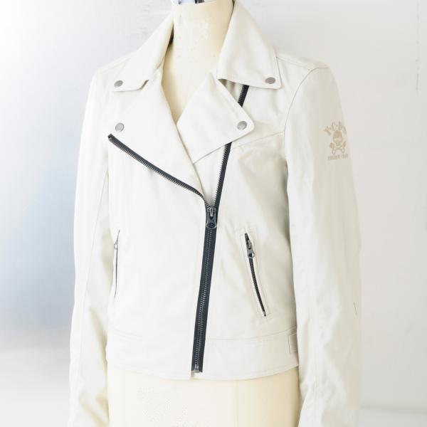 【YELLOW CORN】YB-4121L Textile女用外套(灰白色) - 「Webike-摩托百貨」