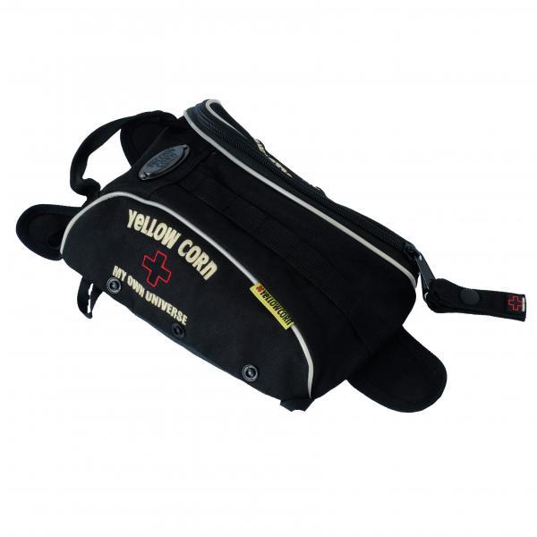 【YELLOW CORN】YE-45 包包(黑色) - 「Webike-摩托百貨」