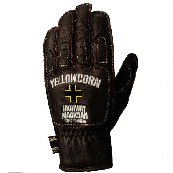 【YELLOW CORN】YG-225 手套(棕色) - 「Webike-摩托百貨」