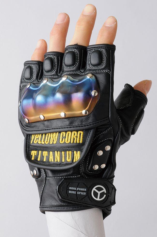 【YELLOW CORN】YG-213S 半指手套 - 「Webike-摩托百貨」