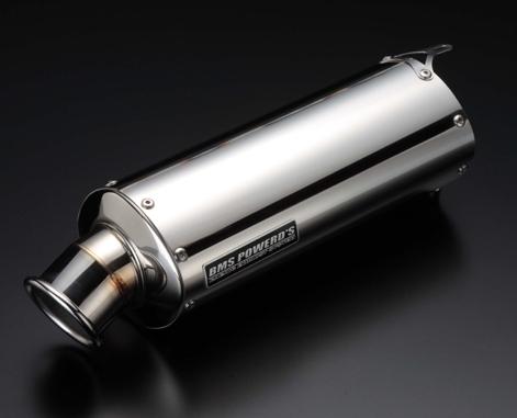 【BEAMS】BMS橢圓形不鏽鋼消音器 - 「Webike-摩托百貨」