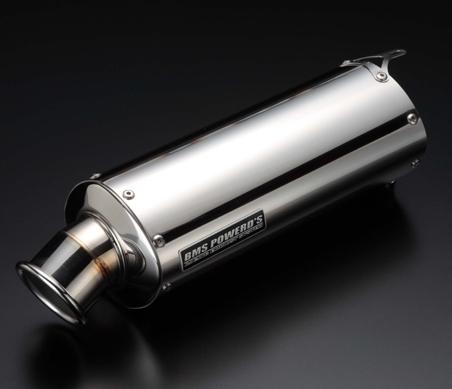 【BEAMS】BMS橢圓形不鏽鋼競賽型消音器 - 「Webike-摩托百貨」