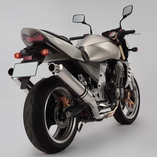 【BEAMS】BMS W-tail 圓筒型不鏽鋼消音器Φ100 - 「Webike-摩托百貨」