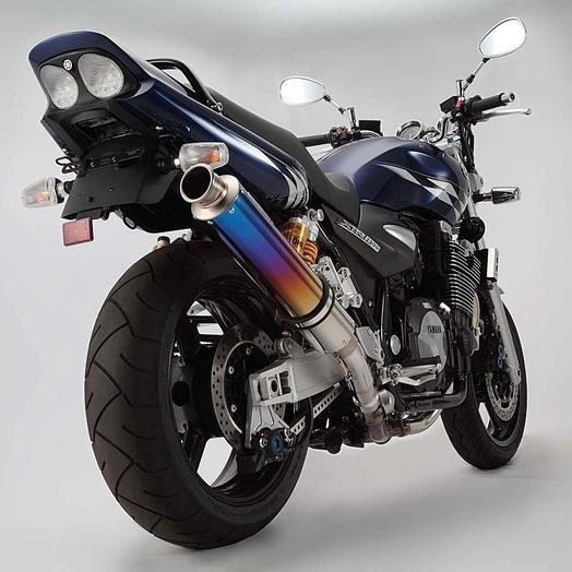 【BEAMS】BMS圓筒型鈦合金彩色漸層消音器Φ100 - 「Webike-摩托百貨」