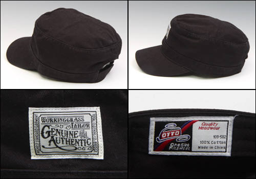 【BREDGE】斜紋布軍帽 - 「Webike-摩托百貨」