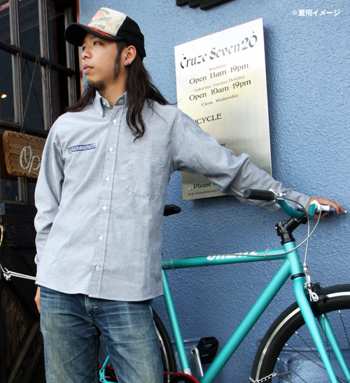 【BREDGE】【BREDGE×RED KAP】 OxfordBD襯衫 - 「Webike-摩托百貨」