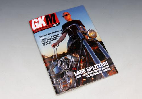 【EASYRIDERS】Greasy Kulture Magazine 21號 - 「Webike-摩托百貨」