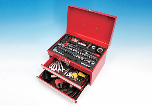 150-piece Tool Kit with Tool BOX