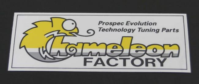 【Chameleon Factory】貼紙中型(122×47) - 「Webike-摩托百貨」