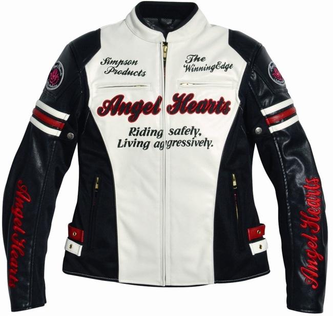 【Angel Hearts】仿皮革夾克 AHJ-4111 - 「Webike-摩托百貨」