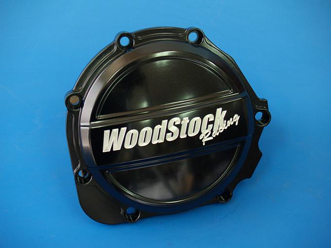 【WOODSTOCK】引擎外蓋 B Type (黑色) GPZ900R/ZRX1100/ZRX1200用 - 「Webike-摩托百貨」