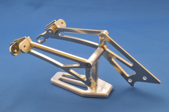 【WOODSTOCK】後座腳踏套件 (GPZ900R用) - 「Webike-摩托百貨」