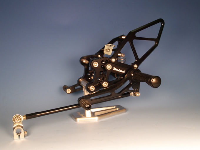 【WOODSTOCK】腳踏後移套件 (ZZR1400 06-/ZX-14R 12-用 ABS車型對應) - 「Webike-摩托百貨」
