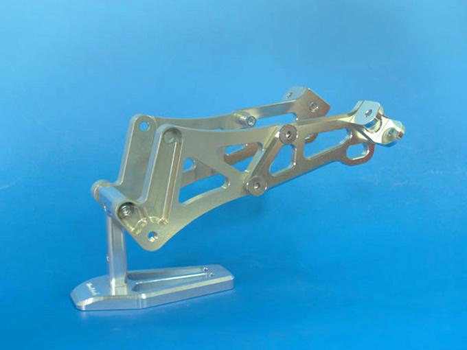 【WOODSTOCK】後座腳踏套件 (ZEPHYR1100用) - 「Webike-摩托百貨」