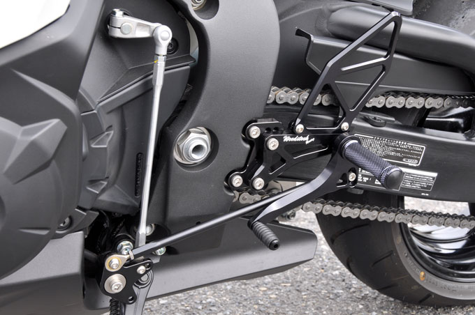 【WOODSTOCK】腳踏後移套件 (CBR1000RR 08-09用) - 「Webike-摩托百貨」