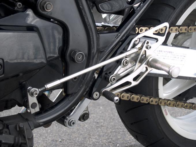 【WOODSTOCK】腳踏後移套件 (GPZ1100F用) - 「Webike-摩托百貨」