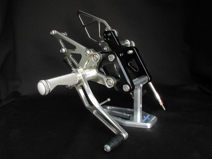 【WOODSTOCK】腳踏後移套件 (ZZR1100 D用) - 「Webike-摩托百貨」