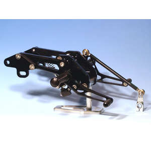WOODSTOCK Rear Sets Kit for Z1000R