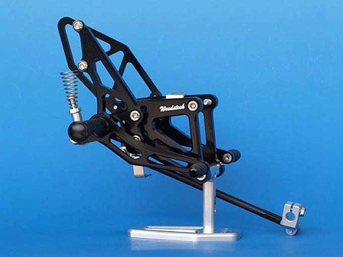 【WOODSTOCK】腳踏後移套件 (ZX-6RR 07-08用) - 「Webike-摩托百貨」